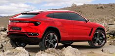 A SUV made by Lamborghini? The Urus must be a wonderful thing to drive