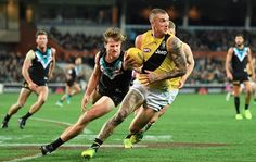 Dustin Martin rnd 15 2017 win against Port
