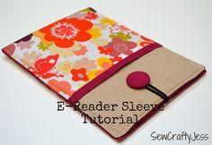 E-Reader Sleeve Tutorial