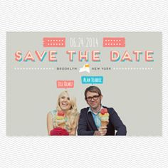 Gelato Postcard Save the Date