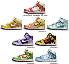 eeveelutions pokemon shoes