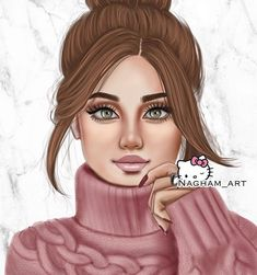 Person Drawing, Cute Girl Drawing, Cartoon Girl Drawing, Beautiful Fairies, Beautiful Anime Girl, Cartoon Girl Images, Girl Cartoon, Girly M Instagram, Sarra Art