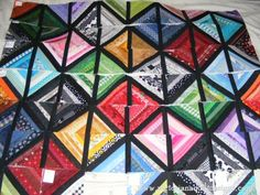 Tiny String Scrap Patch Quilt Project