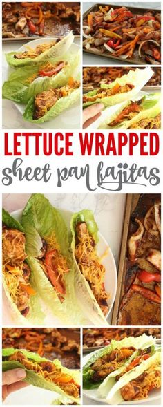 YUM! This Lettuce Wrapped Sheet Pan Fajitas with Homemade Fajita Seasoning is one of my FAVORITE new recipes!