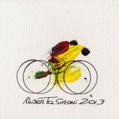 La bici nell'arte - Roberto Sironi - Sprint - 2013