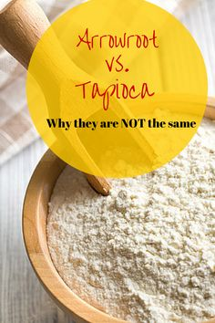 Arrowroot vs Tapioca. Do you know what the differences are? Learn more here.