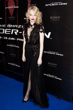 "Emma Stone in Gucci at ""The Amazing Spider-Man"" Premiere"