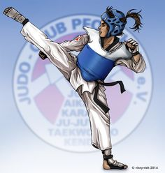 Taekwondo Kick by vinny-vieh