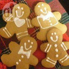 Gingerbread man (bonequinhos de gengibre) @ allrecipes.com.br