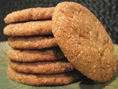 Soft gingersnaps...mmm perfect with a cozy cup of coffee!