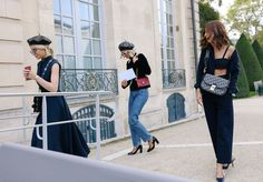 Caroline Daur and Anne-Laure Mais in Dior