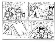 Things To Consider When You Go Camping. So, you've decided to go camping? Sequencing Worksheets, Sequencing Cards, Story Sequencing, Blends Worksheets, Camping Theme, Go Camping, Camping Friends, Kindergarten Writing, Literacy