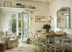 I love the shelf over the door. I will do this over the french doors in my living room!