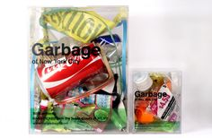 New York City Garbage on Packaging of the World - Creative Package Design Gallery