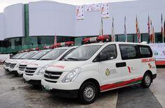 Las nuevas ambulancias representan una inversión de 10 millones 400 mil pesos y forman parte de un programa de más de 57 millones de pesos, dijo el gobernador Javier Duarte.