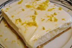 Greek Sweets, Greek Desserts, Summer Desserts, Easy Desserts, Delicious Desserts, Yummy Food, Yummy Yummy, Lemon Recipes, Sweets Recipes