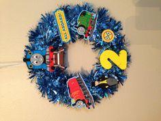 Thomas birthday wreath