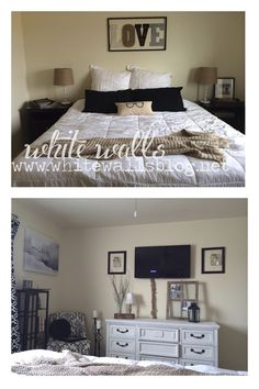 White Walls- your military house into a home blog