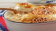 Receita de arroz doce cremoso com MUITO caramelo - Bolsa de Mulher