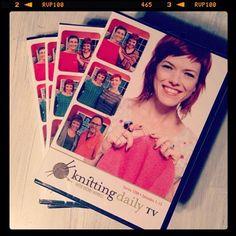 Knitting Daily with Vickie Howell -- Full season DVDs and digital downloads available now! --- OOOH.