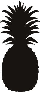 pineapple silhouette