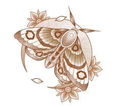 Tattoo Butterfly Sternum Tat 46 Ideas For 2019 Siren Tattoo, Bug Tattoo, Insect Tattoo, Moth Tattoo Design, Tattoo Designs, Tattoo Sketches, Tattoo Drawings, Traditional Moth Tattoo, Moth Drawing