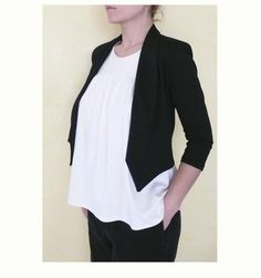 Looking for your next project? You're going to love PDF Pattern Women's Knit / Jersey Jacket by designer LuciaA..