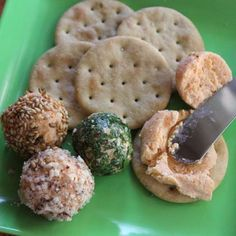 Mini Cheese Balls   Recipes   Spoonful. More snack-like than for Lunch.