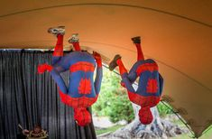 Spiderman is in the ceilling   event, luxuria, kids, spider man, ceilling, show Saint Tropez, Cannes, Monaco, Cap D Antibes, Courchevel 1850, Kids Events, French Riviera, Bar Mitzvah, Spiderman