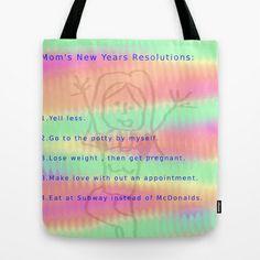 Mom's NYR Tote Bag by Megan Spencer - $22.00