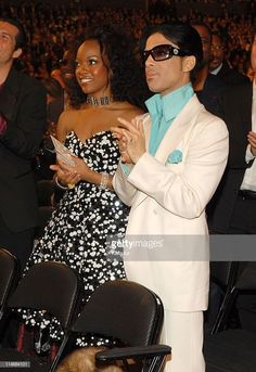 Tamar Davis and Prince during The Annual GRAMMY Awards - Audience at Staples Center in Los Angeles, California, United States. Get premium, high resolution news photos at Getty Images Prince Paisley Park, Jazz, Pictures Of Prince, Prince Images, The Artist Prince, Hip Hop, Roger Nelson, Prince Rogers Nelson, Purple Reign