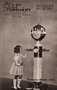 Robot at the Polytechnical Museum, Moscow. Élet És Tudomány, 1962. december 9.