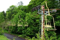 This chairlift was part of the Fun Mountain theme park in Gatlinburg. (Photo: Jordan Liles)
