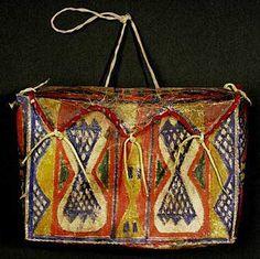 sioux parefleche | Rawhide or Parfleche containers