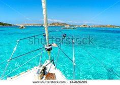 Porto della Madonna, spiaggia rosa, Sardinia, Sardegna, Italy - stock photo