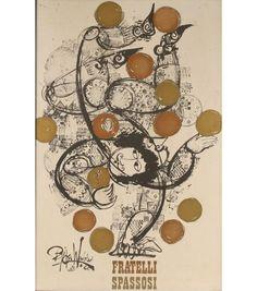 Vintage Bjorn Wiinblad Fratelli Spassosi Poster | Antique Helper