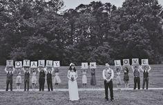 Fotos de casamento temático Scrabble - Tá vendo? Scrabble também pode ser romântico! ;)