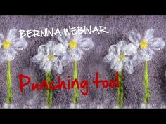 A Guide to the Decorative Punch Tool with Bernina Educator Nancy Bednar. Brought…