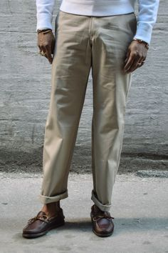 Earl's Apparel Stan Ray Chino Pants Khaki cheaper version is on allseasonuniforms and the like