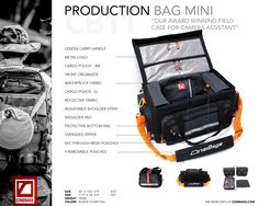 #lifeonlocation #cinebags #productionbagmini