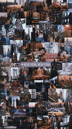 Lockscreen Wallpaper New York City New York Life, Nyc Life, City Aesthetic, Travel Aesthetic, New York Tumblr, Aesthetic Backgrounds, Aesthetic Wallpapers, City Wallpaper, Grey New York Wallpaper