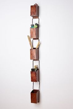 Pressed Metal Wall Cube - anthropologie.eu