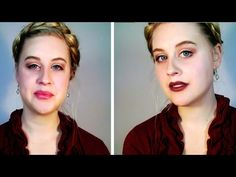 Warm Neutrals and Two Lip Options | My Winter Makeup Routine - YouTube