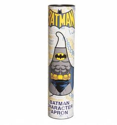 BATMAN CHARACTER APRON IN A TUBE - (BATMAN SUIT) – BAY 57