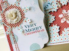 Christmas Cheer cards by Dani at Studio Calico