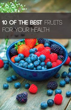 All #fruits are good for you, but here are 10 of the best for your health.