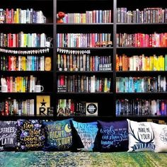 This shelfie is amazing! What do your shelves look like?   (via the-bookie-monster)
