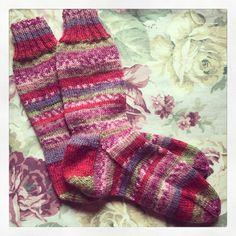 New socks - drops Fabel print yarn