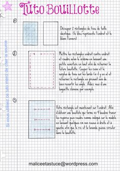 """TUTO> A hot water bottle - Une bouillotte boudinée""""> hot water bottle tutorial page 1 - Sewing Online, Diy Organisation, Creation Couture, Couture Sewing, About Me Blog, Bullet Journal, Voici, Crochet, Bio"""