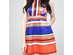 Bande Colorée #Dress